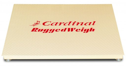 cardinal 5x5 ruggedweigh floor scale